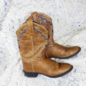 Old West Boy's Cowboy Boots size 1.5